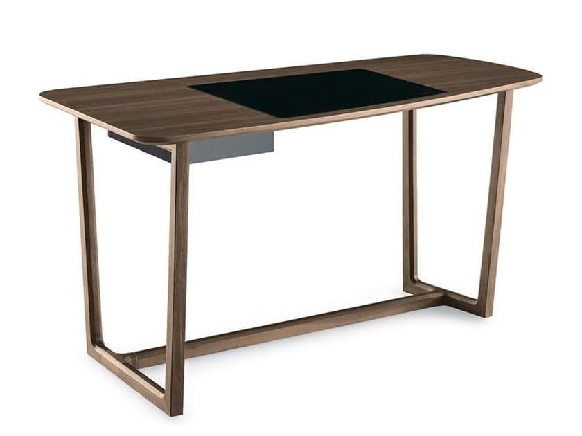 Wooden writing desk CONCORDE | Writing desk by poliform