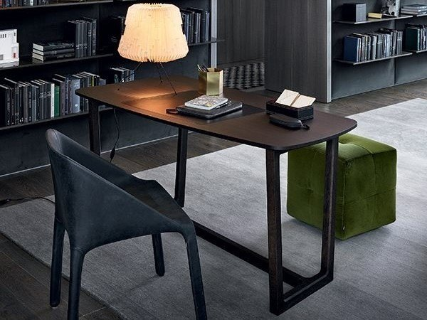 Wooden writing desk CONCORDE | Writing desk by poliform
