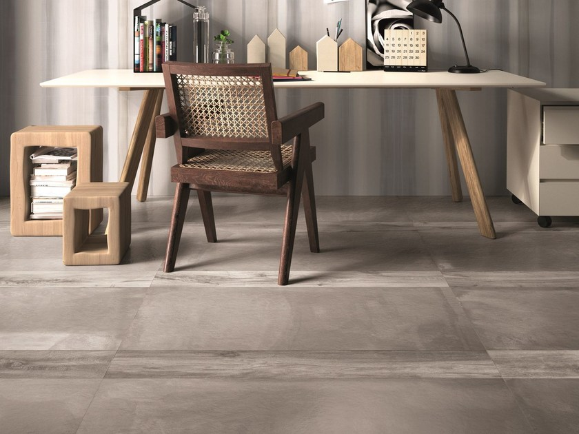 Porcelain stoneware wall/floor tiles CONCREA by Ariana Ceramica