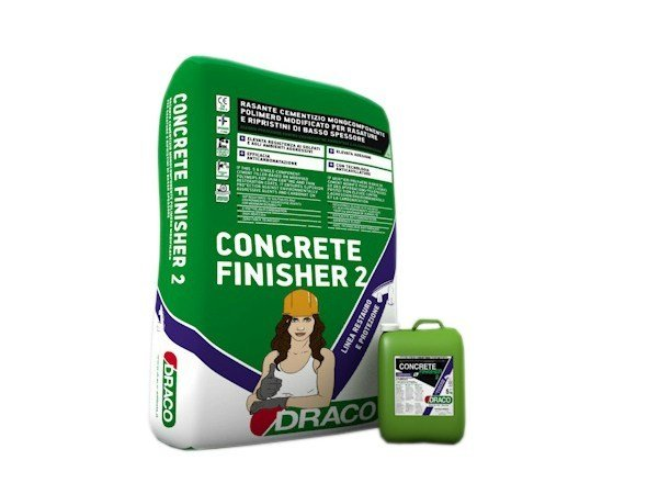 Smoothing compound CONCRETE FINISHER 2 by DRACO ITALIANA