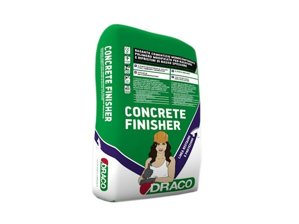 Smoothing compound CONCRETE FINISHER by DRACO ITALIANA
