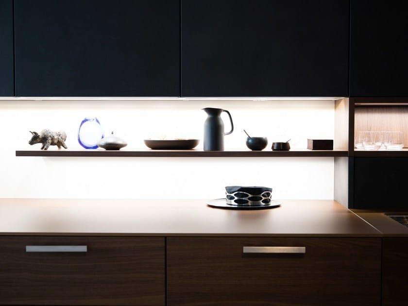 Kücheninsel Leicht ~ küche mit ku u0308cheninsel topos concrete by leicht