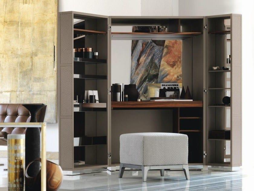 Leather secretary desk / dressing table CONDOTTI | Dressing table by Flou