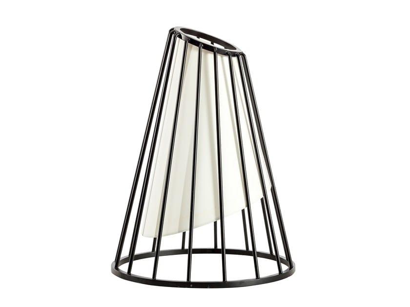 Metal floor lamp CONE by KONTRA