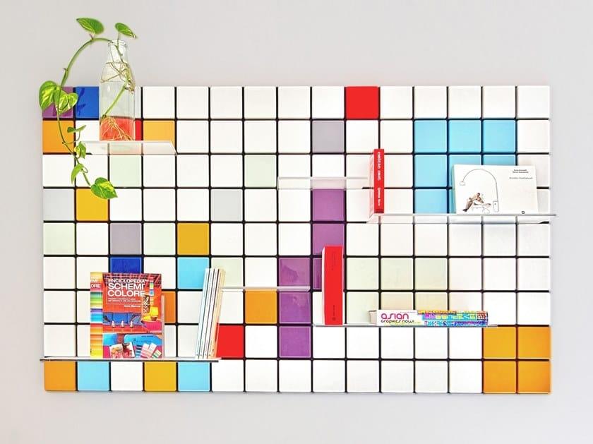 Libreria personalizzabile CONFETTI CUSTOM by Pellington Design