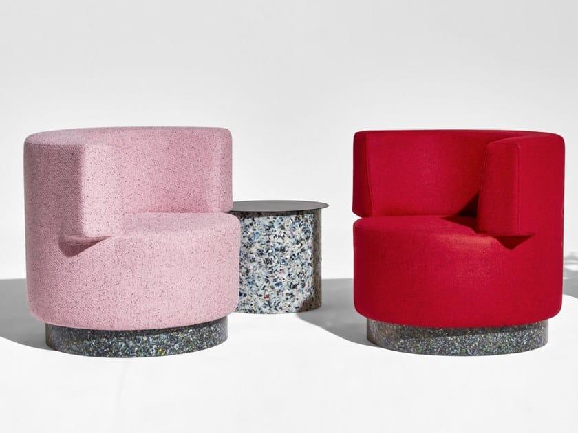 Fabric easy chair CONFETTI | Easy chair by DesignByThem