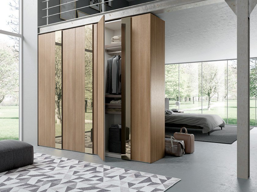 & Wardrobe with hinged doors CONFIGURATION 375 By TUMIDEI
