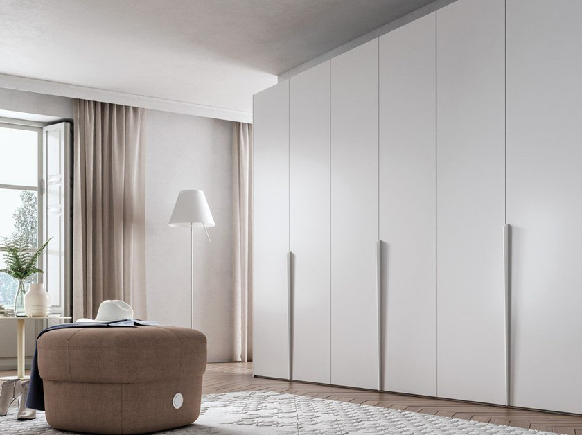 Wardrobe with hinged doors CONFIGURATION 378 by TUMIDEI
