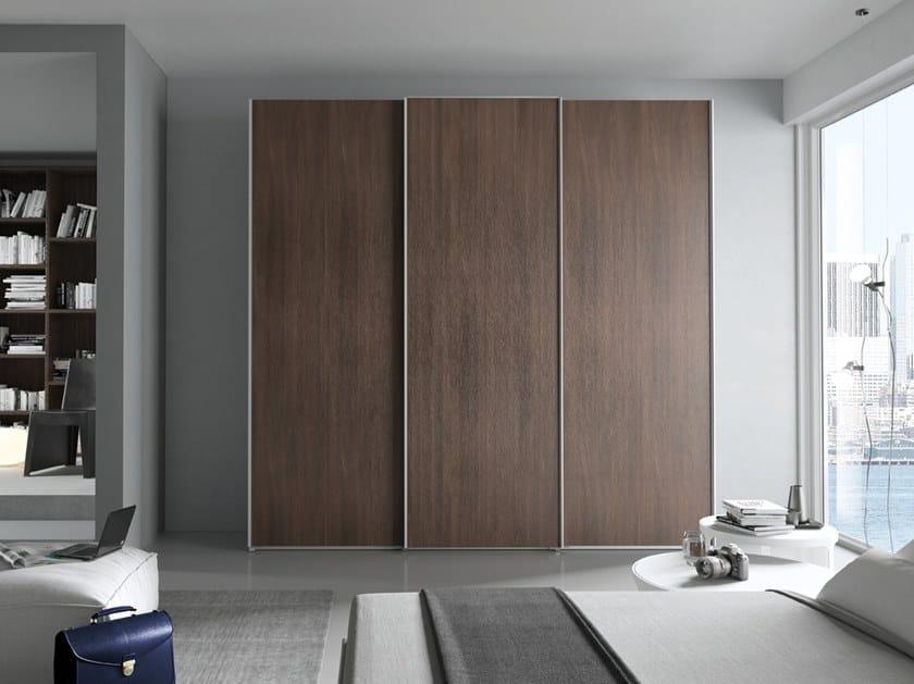 Wardrobe with sliding doors CONFIGURATION 387 by TUMIDEI