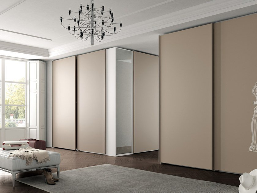 Wardrobe with sliding doors CONFIGURATION 388 by TUMIDEI