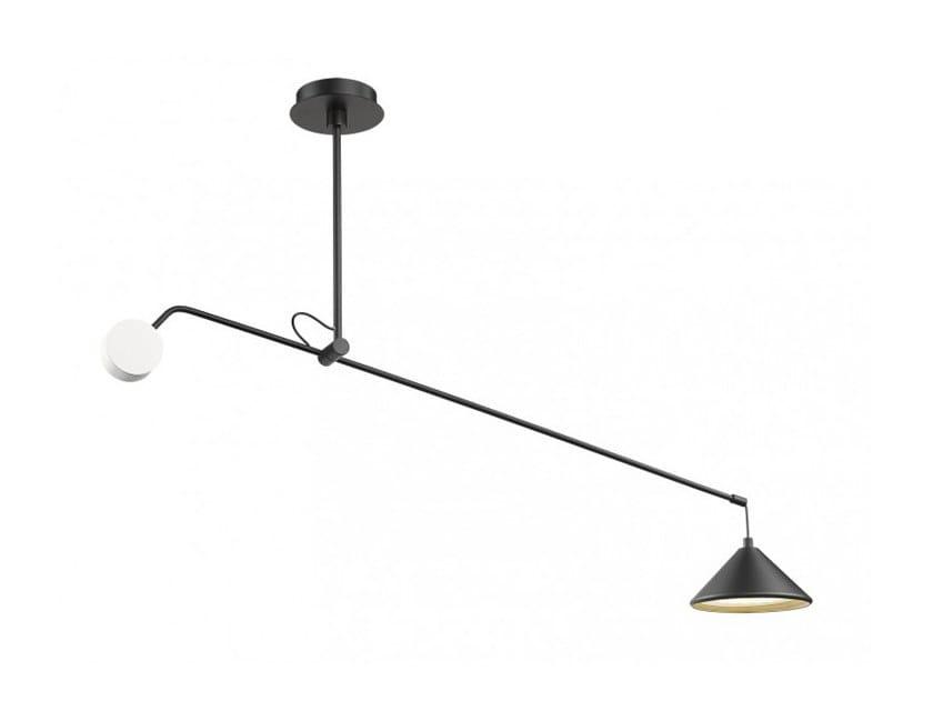 Lampada da soffitto a LED orientabile con dimmer CONIC BALANCE by Seyvaa