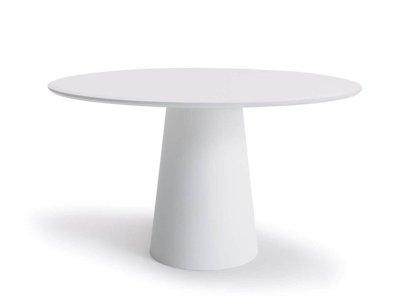 Lacquered round table CONIC | Round table by COR