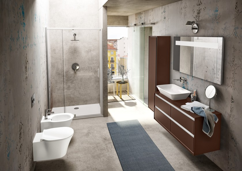 Connect air arredo bagno completo by ideal standard design robin levien - Mobili bagno ideal standard ...