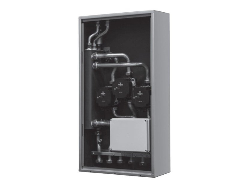 Vertical hydraulic separator CONNECT LE - separatore a zone dirette by BERETTA