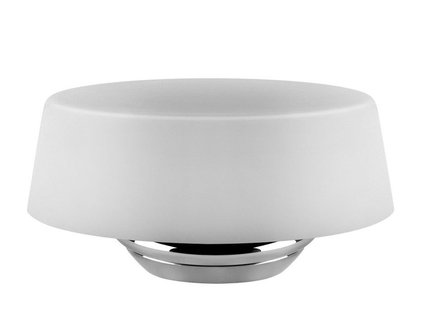 Wall-mounted soap dish CONO ACCESSORIES 45401 by Gessi