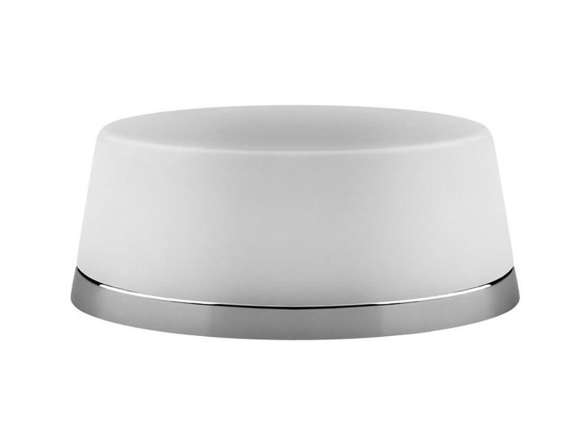 Countertop soap dish CONO ACCESSORIES 45425 by Gessi