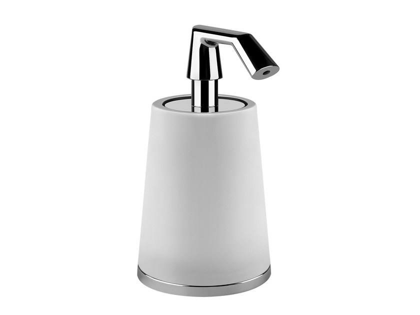 Liquid soap dispenser CONO ACCESSORIES 45437 by Gessi