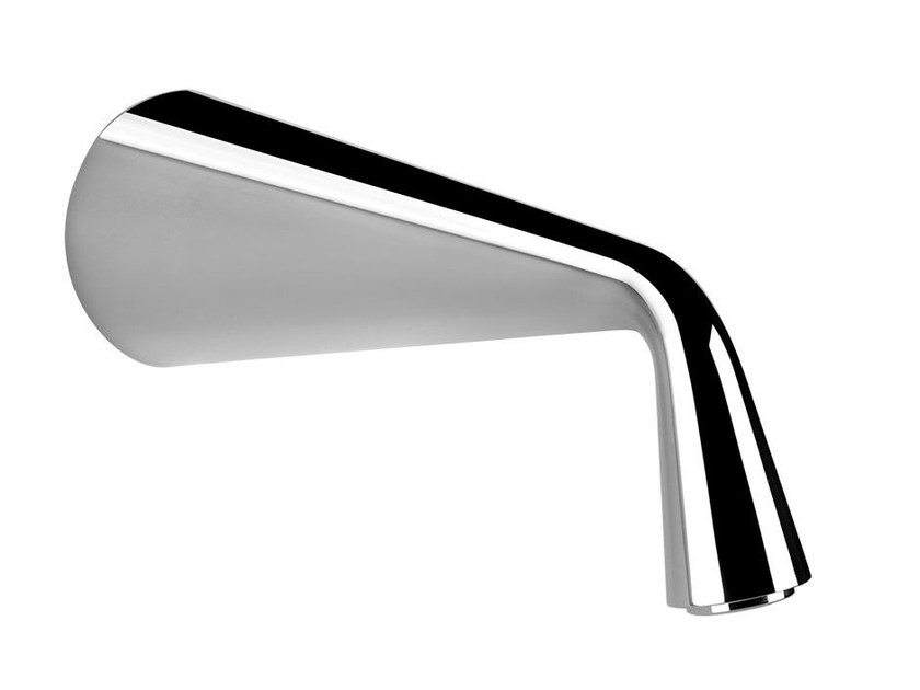 Wall-mounted bathtub spout CONO BATH 45103 by Gessi