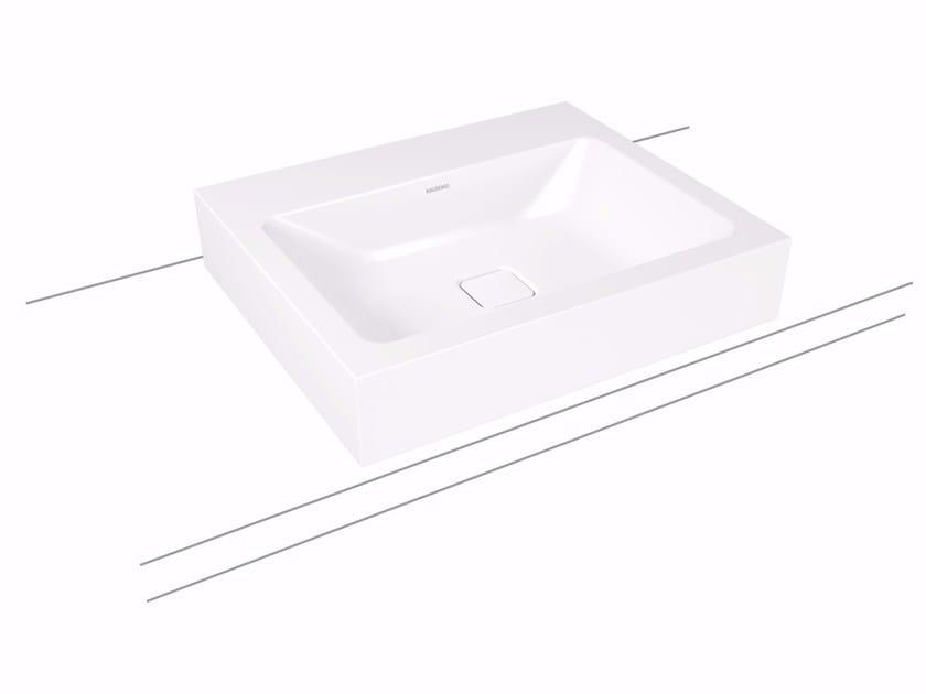 Countertop enamelled steel washbasin CONO | Countertop washbasin by Kaldewei Italia