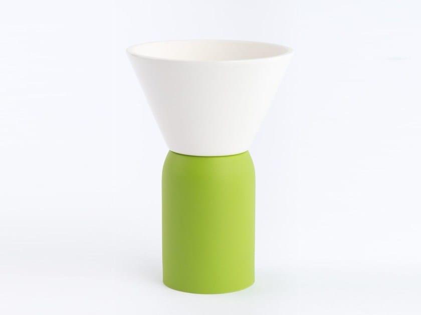 Polyurethane gel Air freshener dispenser CONO by Geelli by C.S.