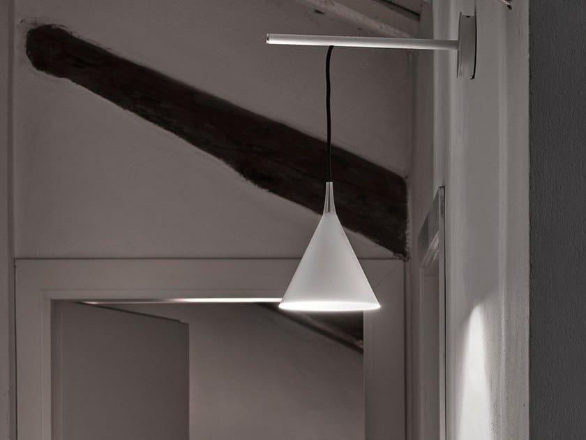 Lampada da parete a LED in alluminio CONO   Lampada da parete by Firmamento Milano