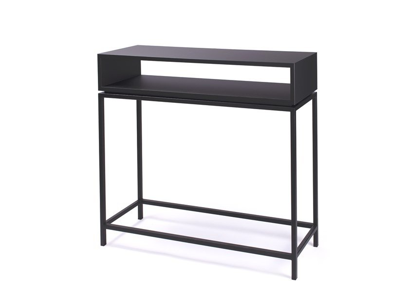 Rectangular console table CONSOLE by BLACKLOFT