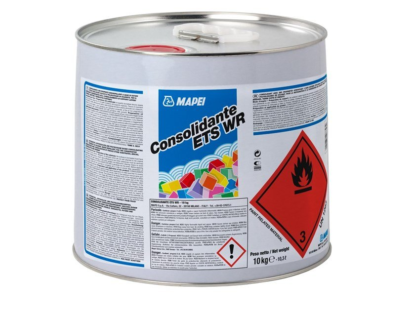 Masonry consolidation CONSOLIDANTE ETS WR by MAPEI