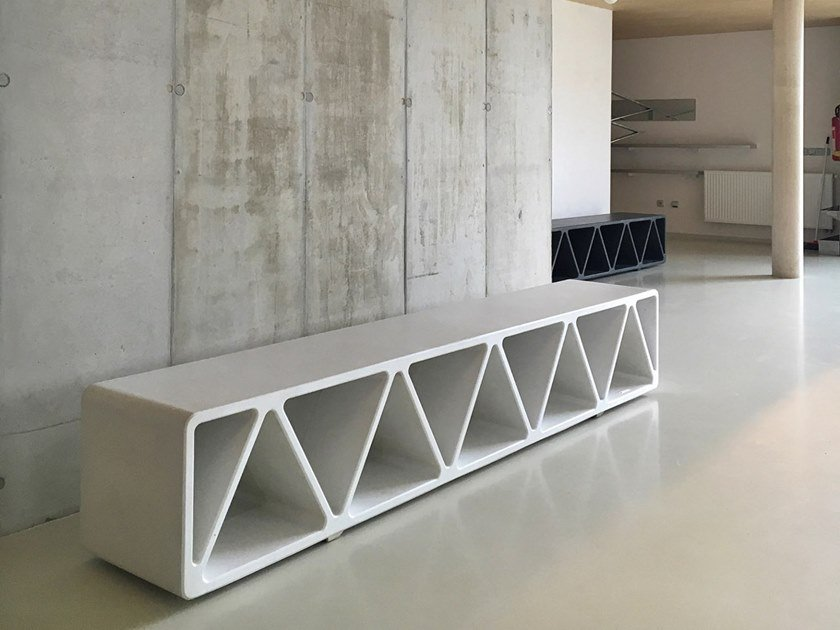 Construqta Cement Bench By Mmcite1 Design David