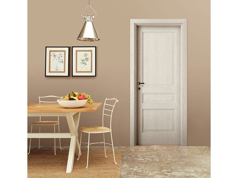 Lacquered solid wood door CONSUMATA by LEGNOFORM