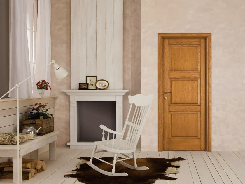 Solid wood door CONSUMATA by LEGNOFORM
