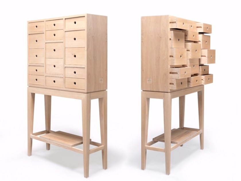 Solid wood sideboard with drawers CONTADOR by Wewood