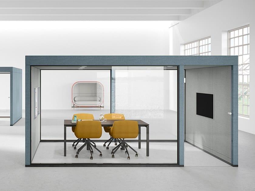 Akustisches Büro Pod für Besprechungen CONTAINER POD by Casala