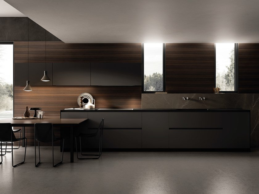CONTEMPORA | Cuisine linéaire Collection Contempora By Aster ...