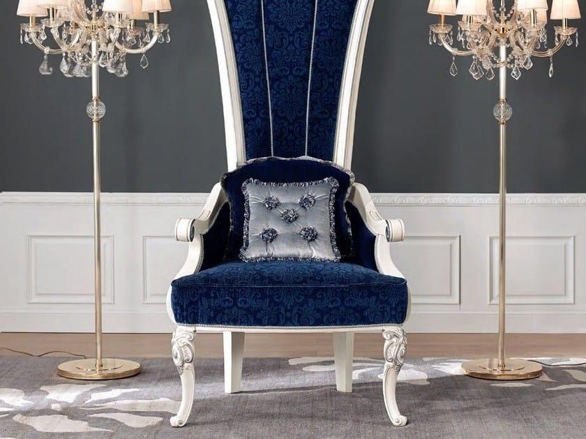 High-back fabric armchair CONTEMPORARY | High-back armchair by Modenese Gastone