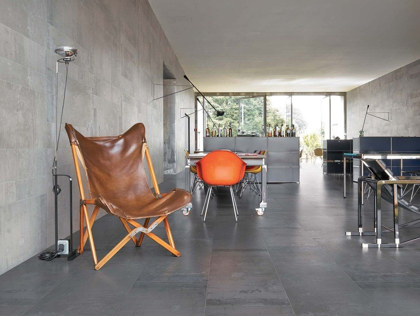 Glazed stoneware wall/floor tiles CONTEMPORARY STONE by CERIM