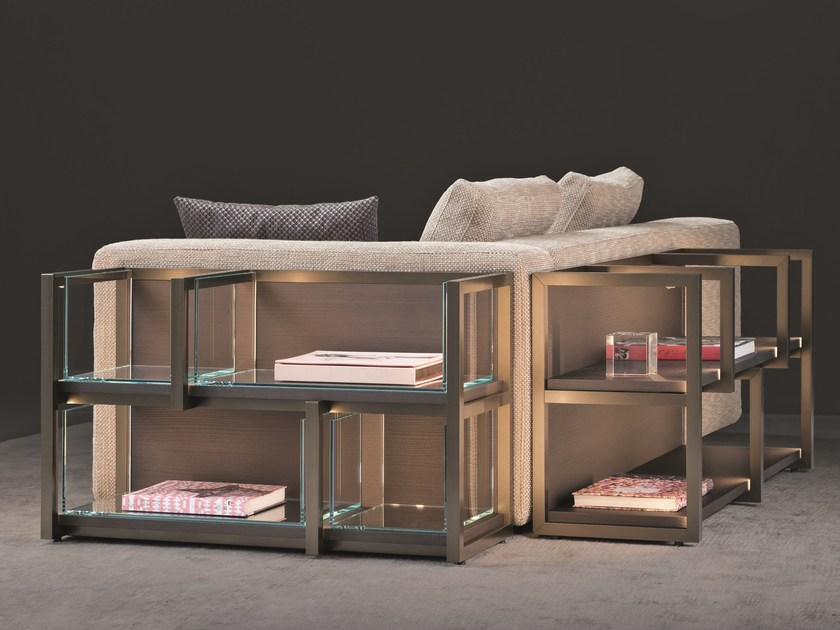 Sectional wooden bookcase CONTINUUM | Sectional bookcase by Natevo