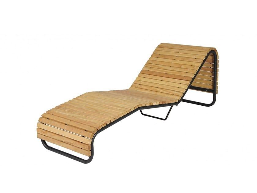 Seduta da esterni in legno CONTOUR | Seduta da esterni in legno by Euroform W