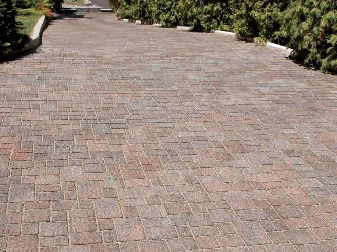 Concrete paving block CONTRADE  - DIAMANTI by RECORD - BAGATTINI