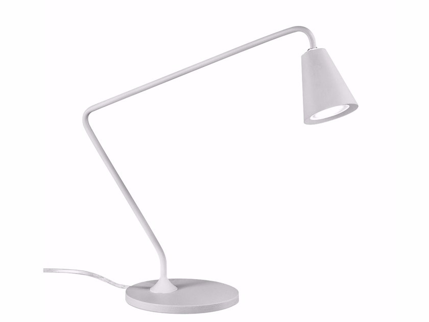 LED powder coated aluminium table lamp CONUS_TAB by Linea Light Group