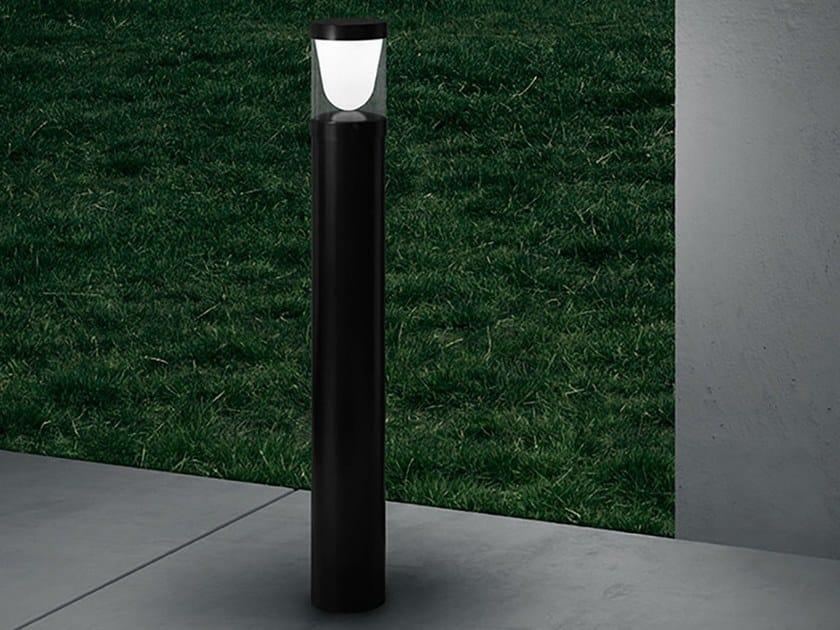 LED aluminium bollard light CONVEX | Bollard light by ZERO