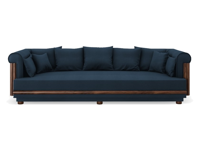 Linen sofa CONWAY by Wood Tailors Club
