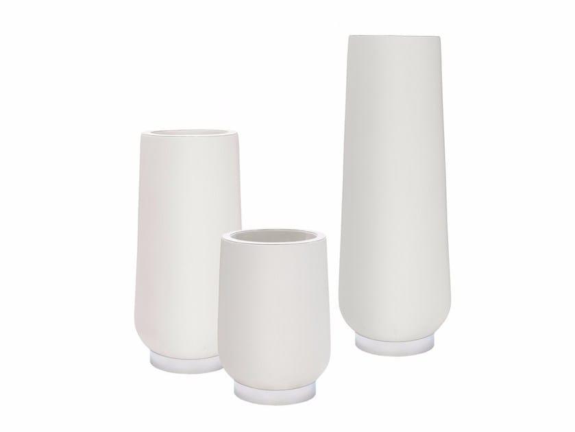 Fiberglass vase COOK by Smania