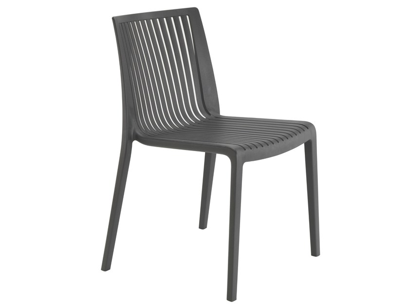 Stackable polypropylene garden chair COOL by Papatya