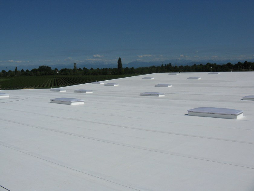 Polyolefin-based waterproofing product COOL ROOF by POLYGLASS