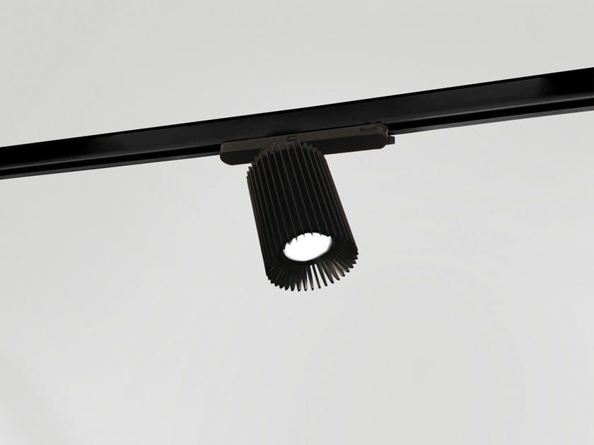 Illuminazione a binario a LED in alluminio COOLFIN | Illuminazione a binario by Dark at night