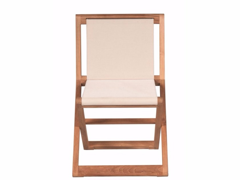 Folding garden chair COPACABANA | Garden chair by Tectona