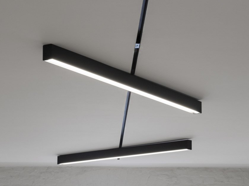 Linear lighting profile for LED modules COPTER IN-TRACK by ZUMI