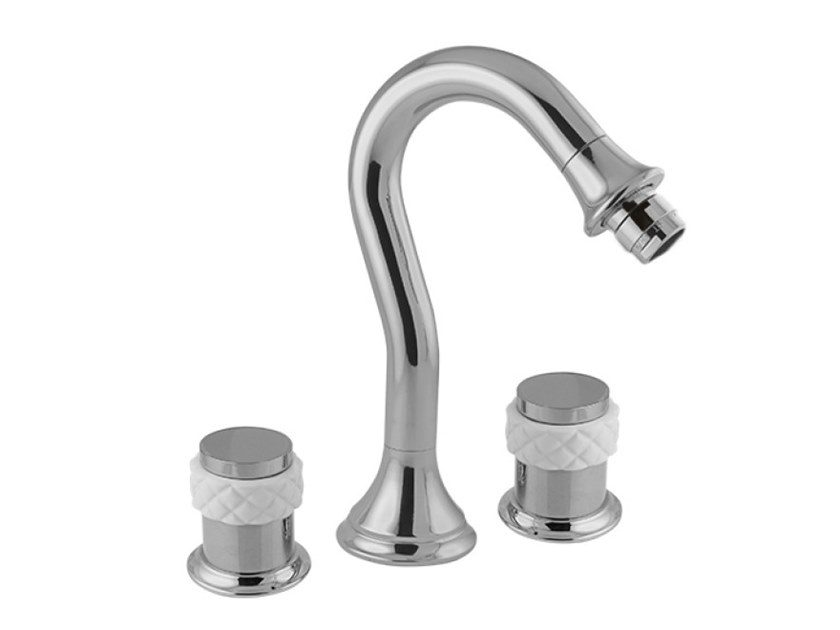 3 hole wall-mounted bidet mixer COQUETTE | 3 hole bidet mixer by Bronces Mestre