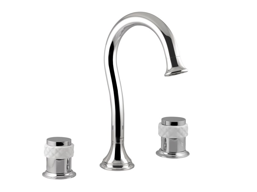 3 hole countertop washbasin mixer COQUETTE | 3 hole washbasin mixer by Bronces Mestre