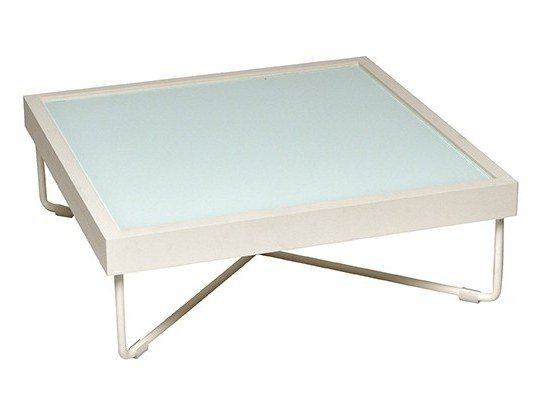 Square coffee table CORAL REEF | Coffee table by Roberti